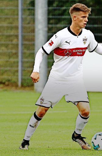 Dzenis Burnic ist von Borussia Dortmund ausgeliehen und absolvierte eine starke Vorbereitung. Doch dann rutschte es aus dem VfB-Team. Foto: Pressefoto Baumann