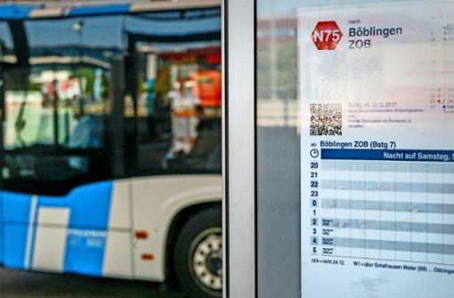 Immer mehr Fahrgäste nutzen Nachtbusse