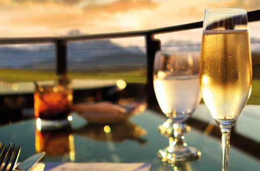 Sky Bar im 3. Obergeschoss  Foto: Das Weitblick Allgäu