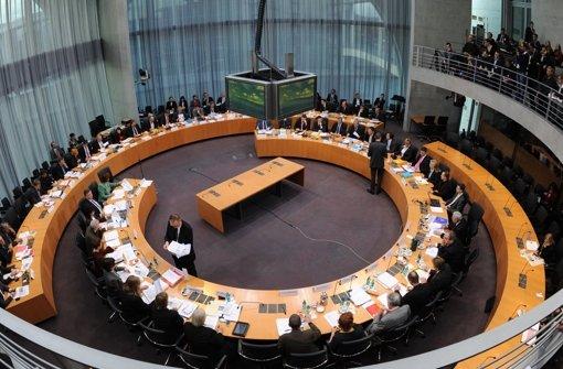 Im Verkehrsausschuss vom Bundestag stand Stuttgart 21 auf der Agenda Foto: dpa
