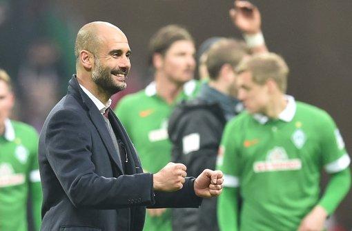 Werder stolz auf Pleite gegen Bayern