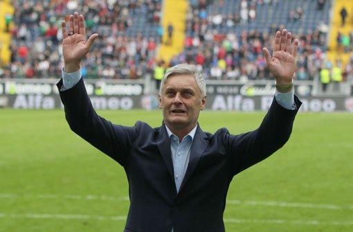 Armin Veh, der alte neue Trainer des VfB Stuttgart. Foto: dpa