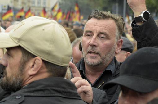 ... Lutz Bachmann, Pegida. Foto: AP