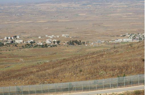 Israel schießt syrischen Kampfjet in seinem Luftraum ab