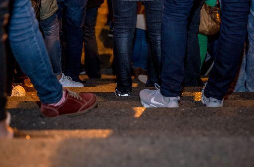 Abstimmung mit den Füßen Foto: Lichtgut/Julian Rettig