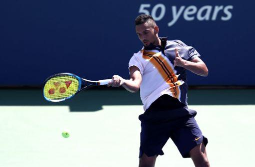 Tennis-Schiedsrichter wird zum Mentalcoach für Nick Kyrgios