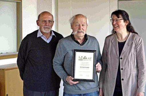 Auszeichnung für den Heimatforscher