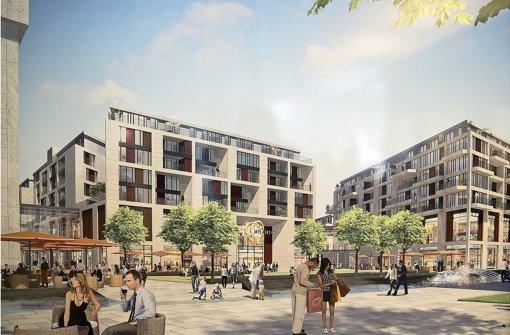 Mit dem Milaneo (Bild) und dem Gerber wird es bald zwei neue Einkaufszentren in Stuttgart geben. Klicken Sie sich durch unseren Vergleich der Shopping-Tempel. Foto: ECE