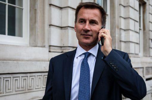 Jeremy Hunt wird neuer britischer Außenminister