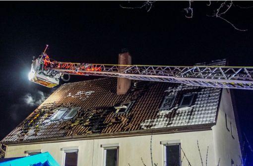 Zwei Brände im selben Dachstuhl