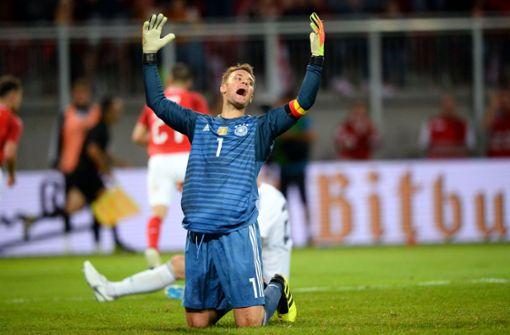 Deutschland verliert, Neuer gewinnt