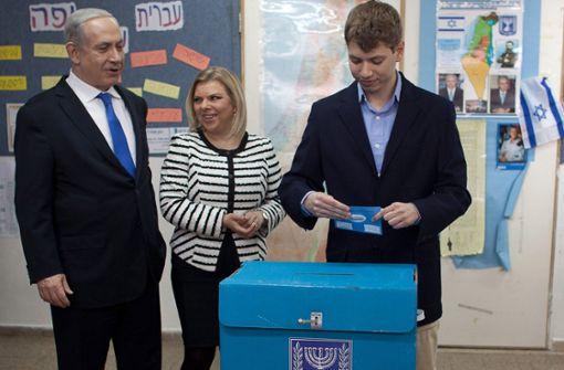 Brisante Aufnahme von Netanjahus Sohn