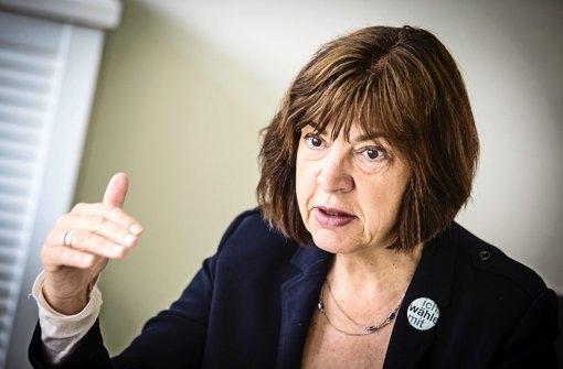 Rebecca Harms will auch nach der Europawahl die Fraktion der Grünen im Parlament leiten. Foto: Leif Piechowski