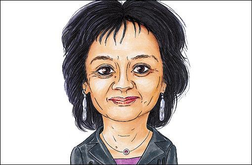 Marta Aparicio gezeichnet von StN-Grafiker Yann Lange Foto: Lange