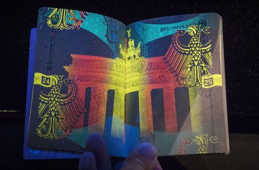 Der deutsche Reisepass bekommt ein Update