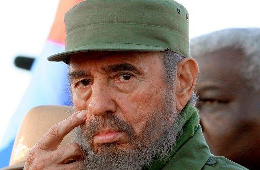 Revolutionsführer Fidel Castro wird 90