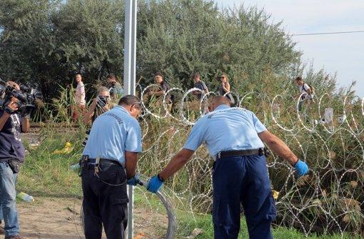 Ungarn will weiteren Grenzzaun errichten