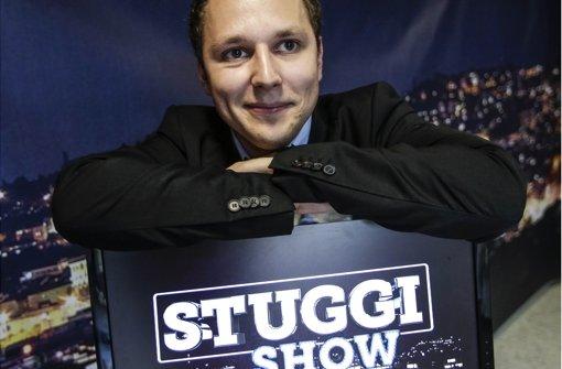 David Rau: Moderator der Stuggi Show Foto: Lichtgut/Leif Piechowski