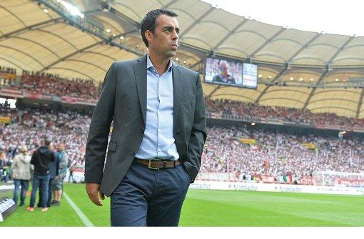 VfB-Sportvorstand Robin Dutt: Ende der Dienstzeit nach nur eineinhalb Jahren Foto: dpa