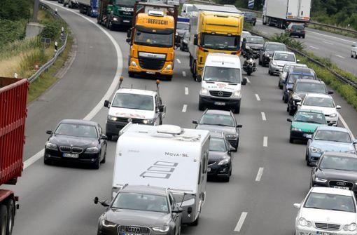 ADAC: Reger Verkehr zum Ferienende