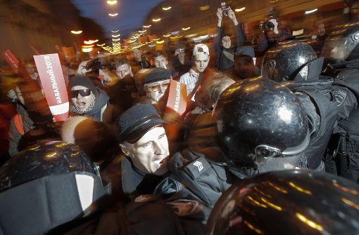 Mehr als 200 Festnahmen bei landesweiten Protesten