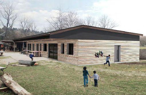 So soll der Neubau aussehen. Foto: Chris Mischke