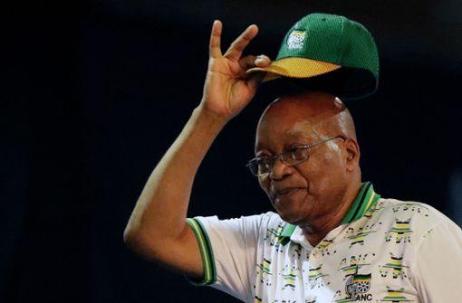 Warten auf den Rücktritt von Jacob Zuma