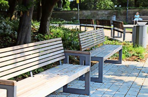Städte pfeifen auf Bänke in Gartenschau-Optik