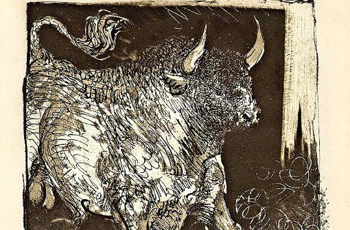 Picasso-Bilder, inspiriert von Literatur