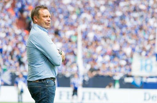 Die Tage von André Breitenreiter bei Schalke 04 sind gezählt. Foto: dpa