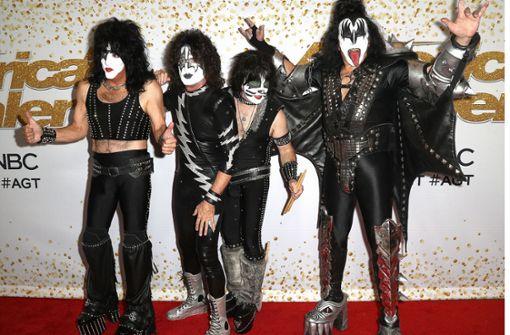 Die Kiss-Rocker sagen Tschüss