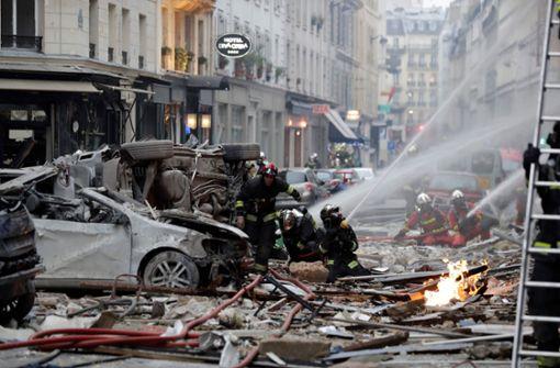In Paris ist es am Samstagmorgen zu einer Explosion gekommen. Foto: AFP