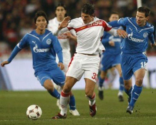 1:2 - VfB beißt sich an Zenit die Zähne aus