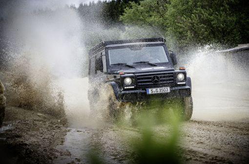 Der Trend zu größeren, stärker motorisierten und besser ausgestatteten Autos wirkt sich bei Daimler auch auf die CO2-Flottenwerte aus. Foto: MediaPortal Daimler AG