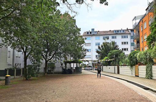 Gerberplätzle oder Therese-Huber-Platz? Das  ist hier die Frage. Foto: Haar
