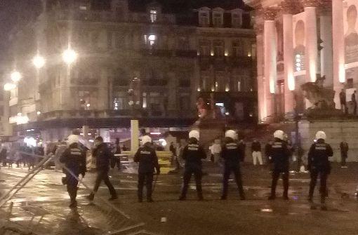 Gewalt in Brüssel nach Marokko-Spiel