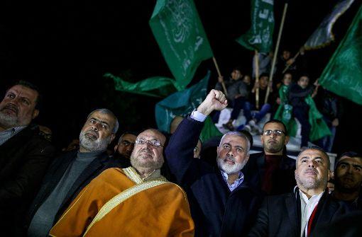 Die Hamas ruft zu einer neuen Intifada auf. Foto: dpa