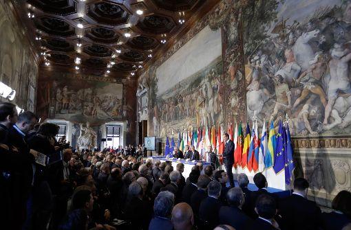 Europa muss Glaubwürdigkeitsproblem angehen