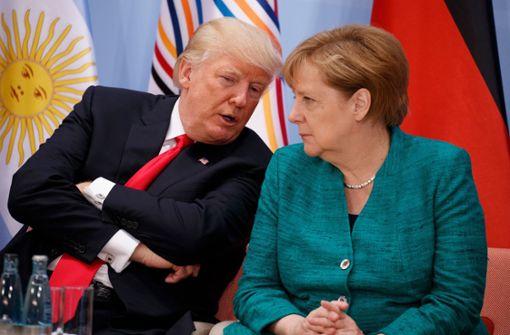 Merkel will Trump ein zweites Mal besuchen