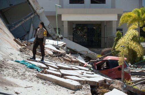 Zahl der Todesopfer in Indonesien steigt auf mehr als 800