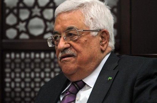 Abbas: Schlimmstes Verbrechen der Neuzeit