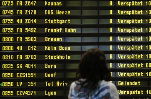 Warnstreiks In Berlin Lufthansa Muss Acht Verbindungen Streichen