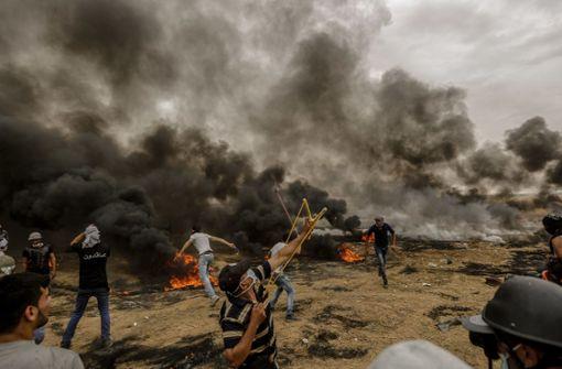 Mehr als 1100 Palästinenser bei Protesten verletzt