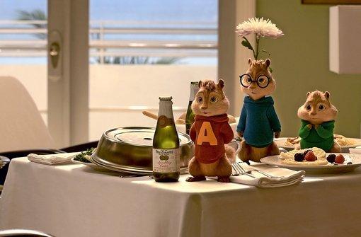 """Chaos durch  Hörnchen:  """"Alvin und die Chipmunks: Road Chip"""" Foto: 20th Century Fox"""
