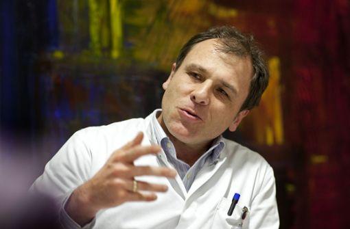 Michael geißler ist weltweit ein gefragter Krebsspezialist. Foto: Pressefoto Horst Rudel
