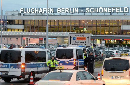 Entwarnung am Flughafen Berlin-Schönefeld