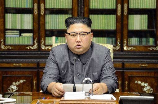Kim Jong Un bezeichnet Trump als dementen US-Greis