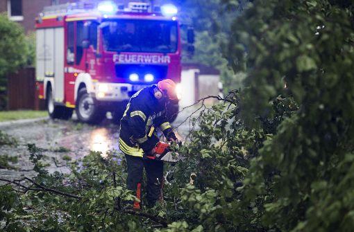 Deutschland von schwerem Unwetter heimgesucht