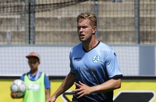 Kickers wieder mit Döringer gegen den SV Waldhof