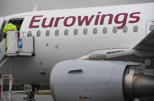 Auch Eurowings ist von der Krankheitswelle bei Air Berlin betroffen. Foto: dpa-Zentralbild
